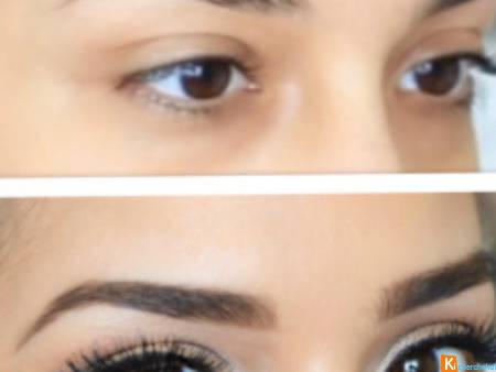 Pigmentation semi permanente Sourcils