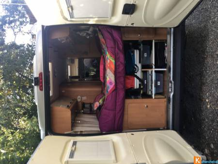 Fourgon camping car challenger vany 2