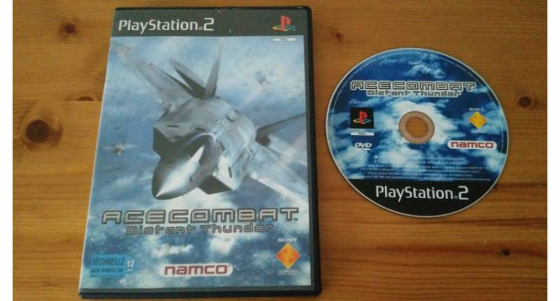 Jeu PS2 Ace Combat : Distant Thunder