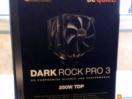 BE QUIET DARK ROCK PRO 3 VENTILATEUR CPU