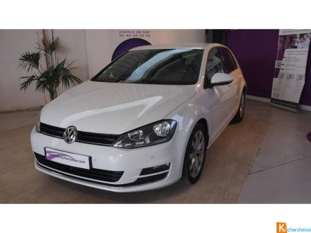 Volkswagen GOLF 2.0 16v Tdi Cr Fap Bluemotion - 150 - Bv Dsg 6  Vii Berline Carat Phase 1