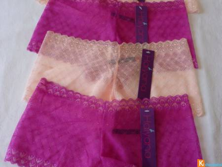 Lot de 4 shorty sexy taille M neuf (344)