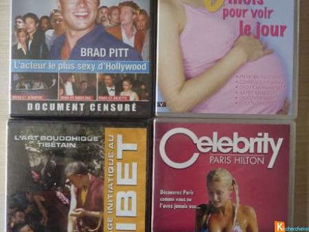 Lot 4 DVD documentaires divers neuf (lot9)