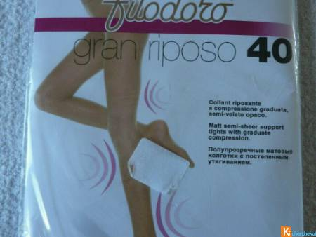 Collant beige taille 3 neuf filodoro (113)