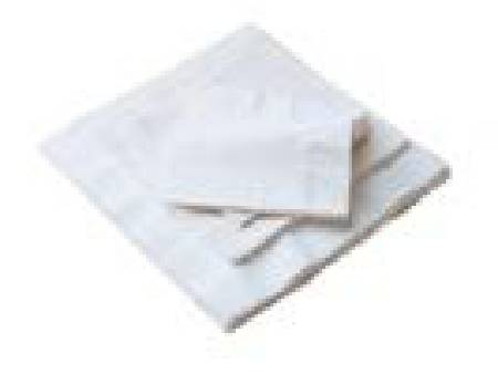 Serviettes de table blanches