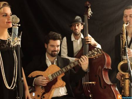 Orchestre jazz Gatsby prohibition