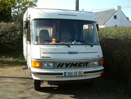 camping car integral hymer  4X4