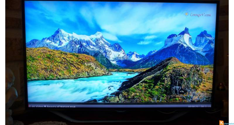 television grand format 1 m65 smart tele led 3d