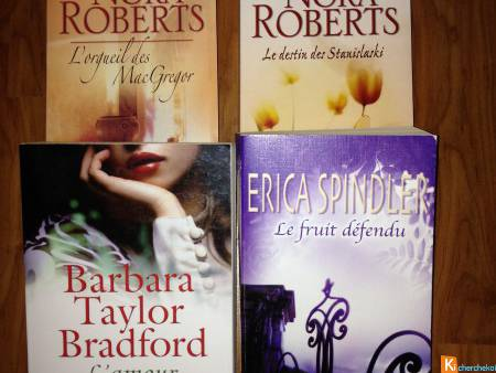Romans Broches NORA ROBERTS