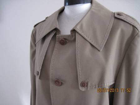 trench coat homme t. 42