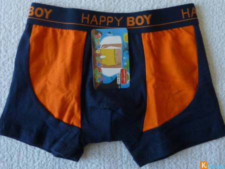 Boxer bicolor taille 4-6 ans neuf (32)