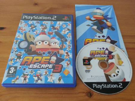 Jeu PS2 Ape Escape 3