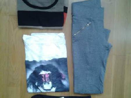 Lot vetements taille M