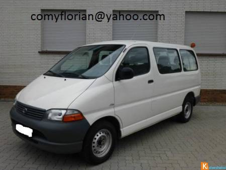 Toyota HiAce 9 Places D-4D CT OK