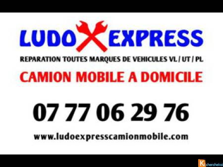 Ludo express camion mobile Mecanique automobile