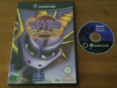 Jeu Gamecube Spyro : Enter the Dragonfly