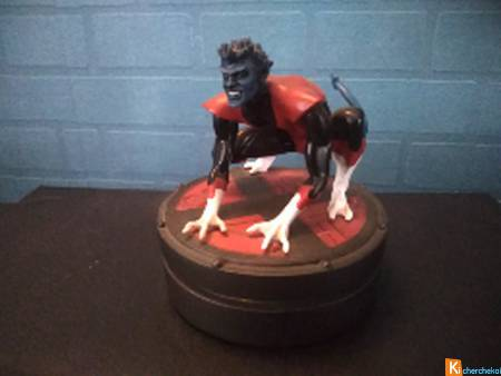 statuette collector  marvel x-men nightrawler