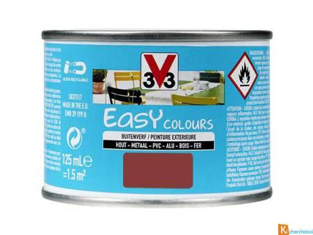 V33 Peinture Easy Colours Rouge Basque