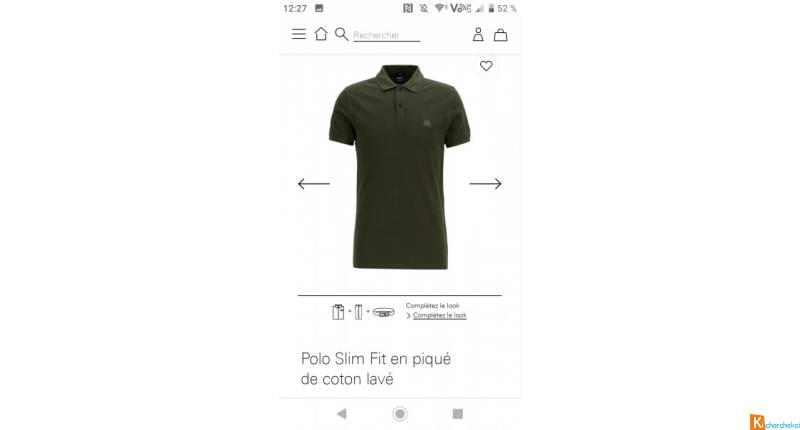 Polo Hugo boss kaki