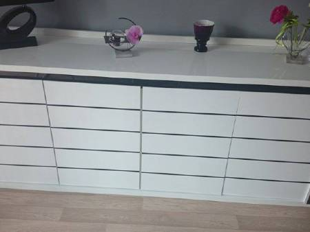 buffet +meuble tv+ table basse+ vitrine