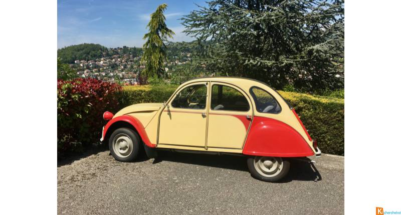 2CV Dolly 1986 - Voiture de Collection