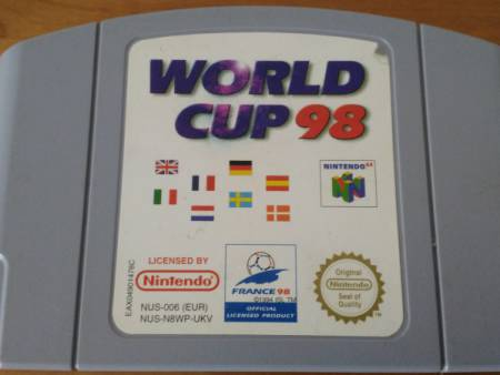 Jeu N64 World Cup 98