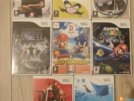 Pack jeux Wii