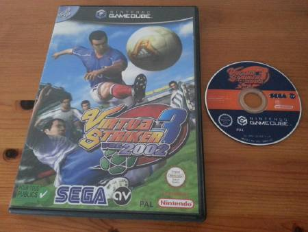 Jeu Gamecube Virtua Striker 3