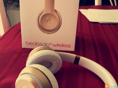 Casque Beats Solo 3 Wireless Gold Edition