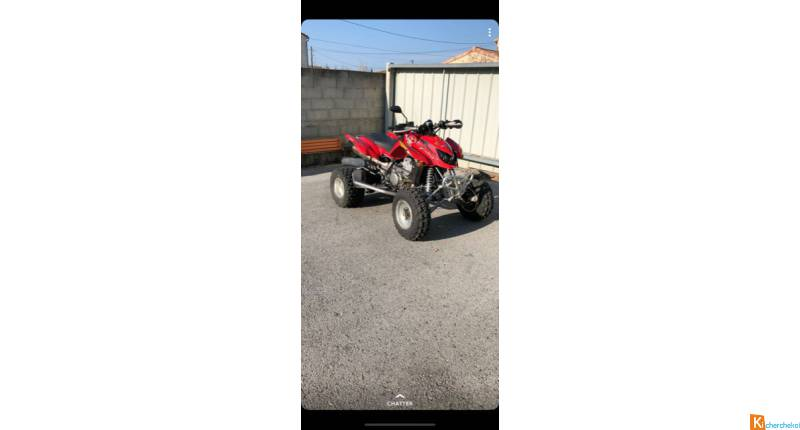 QUAD ARCTIC CAT DVX 400 HOMOLOGUE 1 PLACE