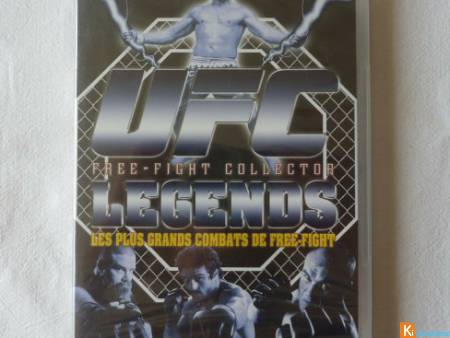 DVD UFC LEGENDS Free Fight collector neuf