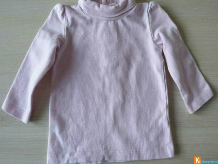 Pull rose taille 6 mois (occas53)
