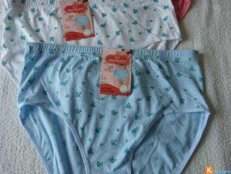 Lot 3 culottes coton taille 48 neuf (233)