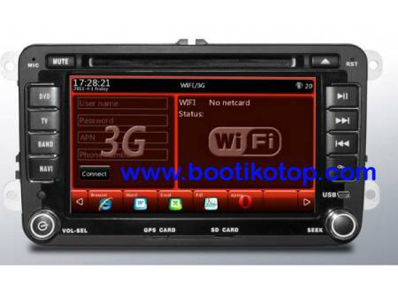 Radio GPS,Bluetooth,VW,Tiguan,Touran,Golf +Golf5/6