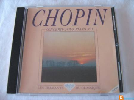 CD Chopin - Concerto pour piano n° 1