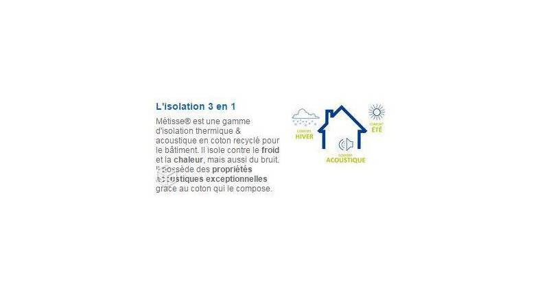 Isolation-coton-metisse
