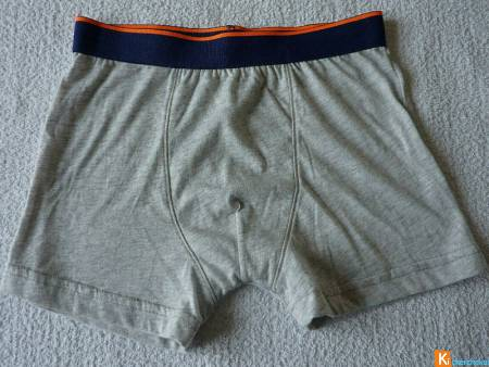 Boxer gris taille taille 10-12 ans neuf (9)