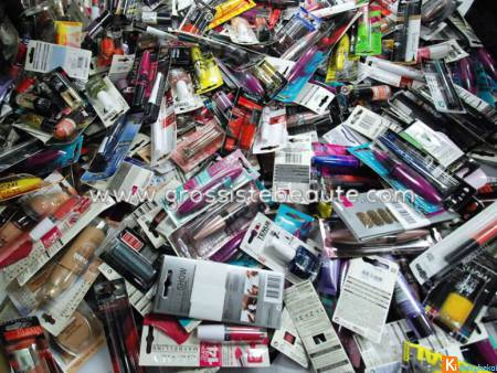 Lot maquillages Gemey Arrivage Exceptionnel