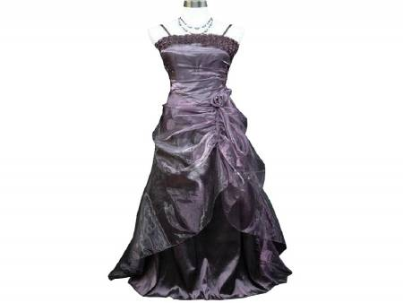 Robe Gde Taille Voile Violet