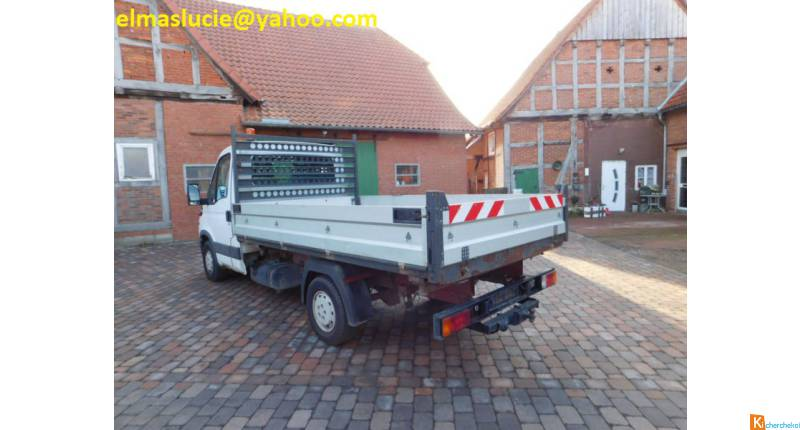 Iveco Daily 35 S 13 tribenne double cabine