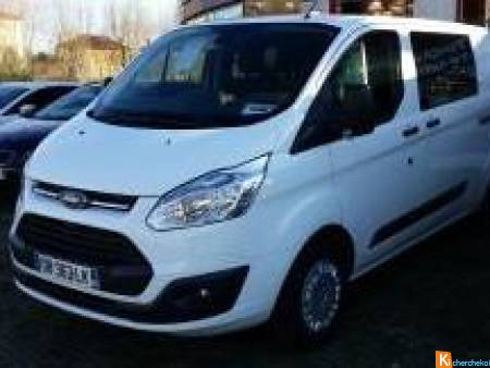 Ford Transit Custom Fg L1h1 2.0 Tdci 130 Cabine Approfondie Trend Business