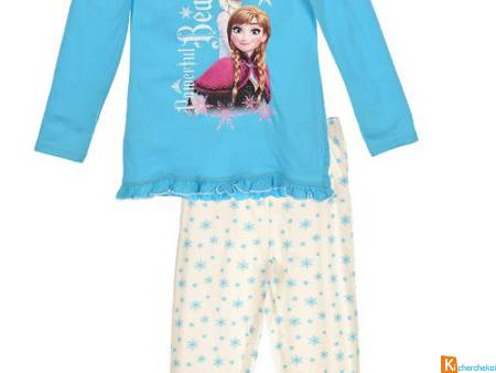 pyjama disney reine des neiges
