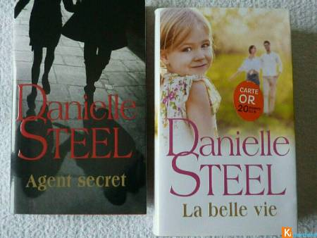 Lot 2 livres romans de DANIELLE STEEL