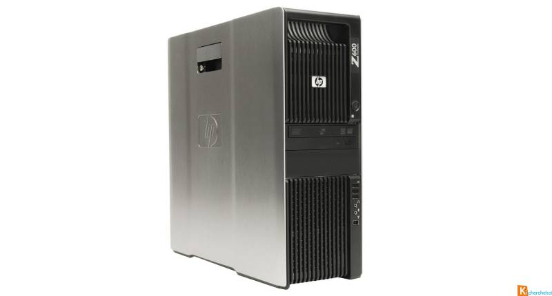 HP Z600 Workstation Bi Xeon Quad Core
