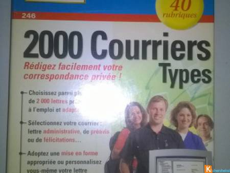 Logiciel 2000 Courriers Types  Micro Application