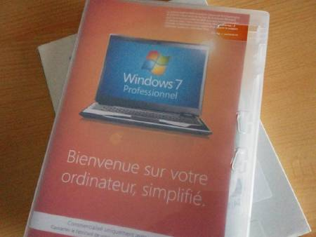 Windows 7 Professionnel 32 bits OEM + licence