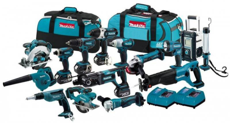 Makita 18V LXT Cordless LXT1500 15 Tool Combo Kit