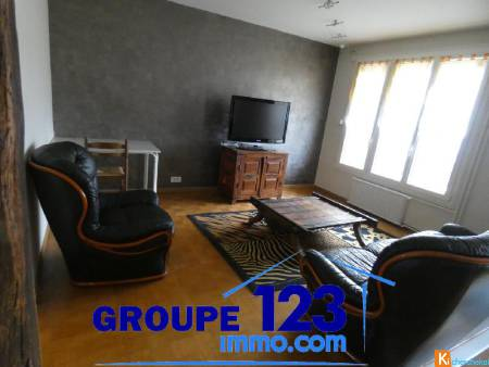 Grand appartement meublé