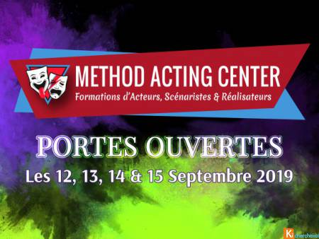 Portes Ouvertes Septembre 2019 - Method Acting Cen