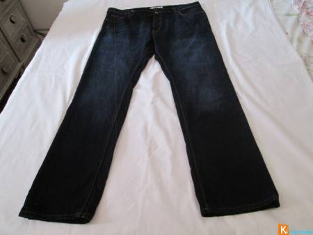 Jean grande taille homme